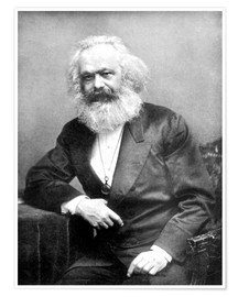 Premium-Poster  Karl Marx - English Photographer
