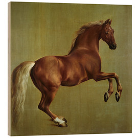 Holzbild  Whistlejacket - George Stubbs