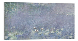 Claude Monet - Seerosen, Morgen 2