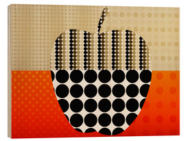 Holzbild  apple impression - Rosalina Nikolova
