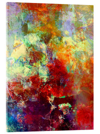 Acrylglasbild  stained paint - Wolfgang Rieger