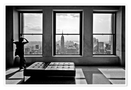 Premium-Poster New York - Top of the Rock