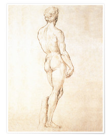 Michelangelo - Studie von David