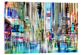 Städtecollagen - times square USA NYC New York Collage