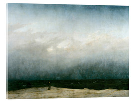 Acrylglas  Mönch am Meer - Caspar David Friedrich