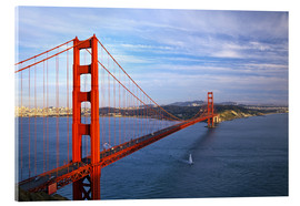 Acrylglasbild  Golden Gate Bridge - Chuck Haney