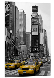 Hartschaumbild  NEW YORK CITY Times Square - Melanie Viola