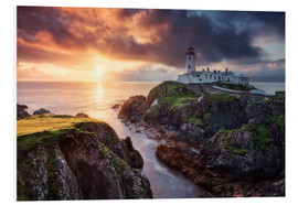Hartschaumbild  Fanad Light - Michael Breitung