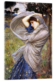 Acrylglasbild  Boreas - John William Waterhouse