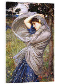 Hartschaumbild  Boreas - John William Waterhouse
