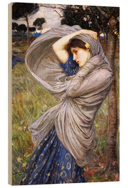 Holzbild  Boreas - John William Waterhouse