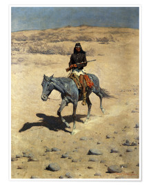 Frederic Remington - Apache Indianer