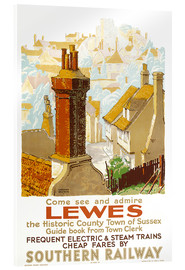 Acrylglasbild  Come see and admire Lewes - Gregory Brown