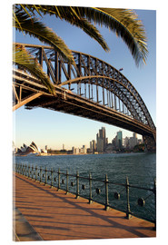 Acrylglas  Sydney Harbour Bridge - David Wall
