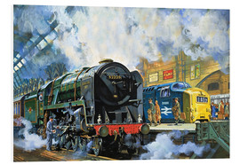 Harry Green - Evening Star, the last steam locomotive and the new diesel-electric Deltic