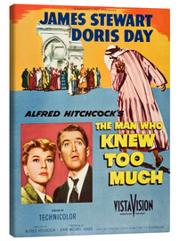 Leinwandbild  THE MAN WHO KNEW TOO MUCH, Doris Day, James Stewart