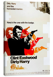 Leinwandbild  Dirty Harry
