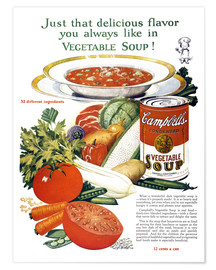 Premium-Poster  Campbell-Suppe
