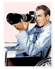 Premium-Poster  REAR WINDOW, James Stewart, 1954