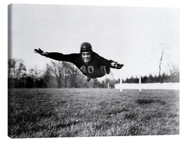 Leinwandbild  Vince Lombardi, (1913-1970), future General manager of the Green Bay Packers and one of the most suc
