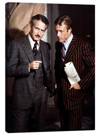 Leinwandbild  THE STING - Paul Newman und Robert Redford