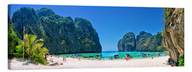Leinwandbild  Maya Bay - The Beach - Thailand - Stefan Becker
