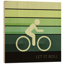 Holzbild  Let It Roll - Phil Perkins