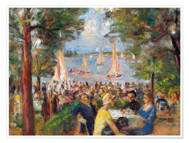 Max Liebermann - Gartenlokal an der Havel