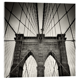 Acrylglasbild  Brooklyn Bridge, New York City - Alexander Voss