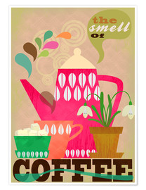 Premium-Poster The smell of coffee
