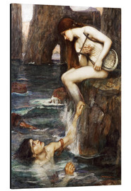 Alubild  Die Sirene - John William Waterhouse