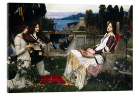 Acrylglasbild  Saint Cecilia - John William Waterhouse