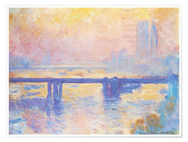 Claude Monet - Charing Cross Brücke
