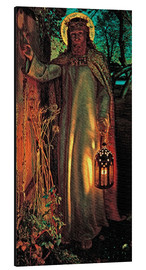 Alubild  Das Licht der Welt - William Holman Hunt