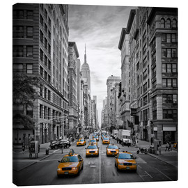 Leinwandbild  New York City, Verkehr auf 5th Avenue - Melanie Viola