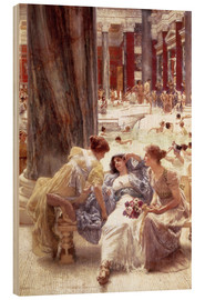 Lawrence Alma-Tadema - Die Caracalla-Thermen