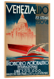 Acrylglasbild  Venezia Lido 1930 - Travel Collection