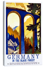 Leinwandbild  Deutschland - Schwarzwald - Travel Collection