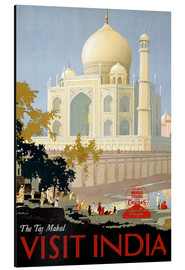 Alubild  Indien - Taj Mahal - Travel Collection