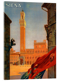 Acrylglasbild  Siena, Toskana in Italien - Travel Collection