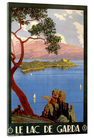 Acrylglasbild  Italien - Gardasee - Travel Collection