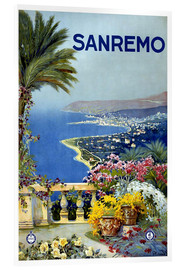 Acrylglasbild  Italien - Sanremo - Travel Collection