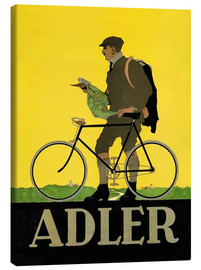 Leinwandbild  Adler Fahrräder - Advertising Collection