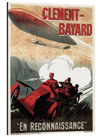 Alubild  Clement Bayard Automobile - Advertising Collection