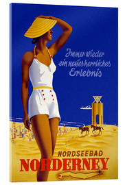 Acrylglasbild  Nordseebad auf Norderney - Travel Collection