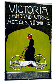 Acrylglasbild  Victoria Fahrradwerke - Advertising Collection