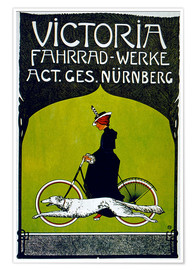 Premium-Poster  Victoria Fahrradwerke - Advertising Collection