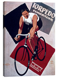Leinwandbild  Torpedo Fahrräder - Advertising Collection