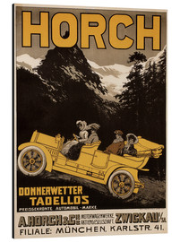 Alubild  Horch Autos - Donnerwetter tadellos - Advertising Collection