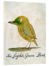 Edward Lear - The Light Green Bird